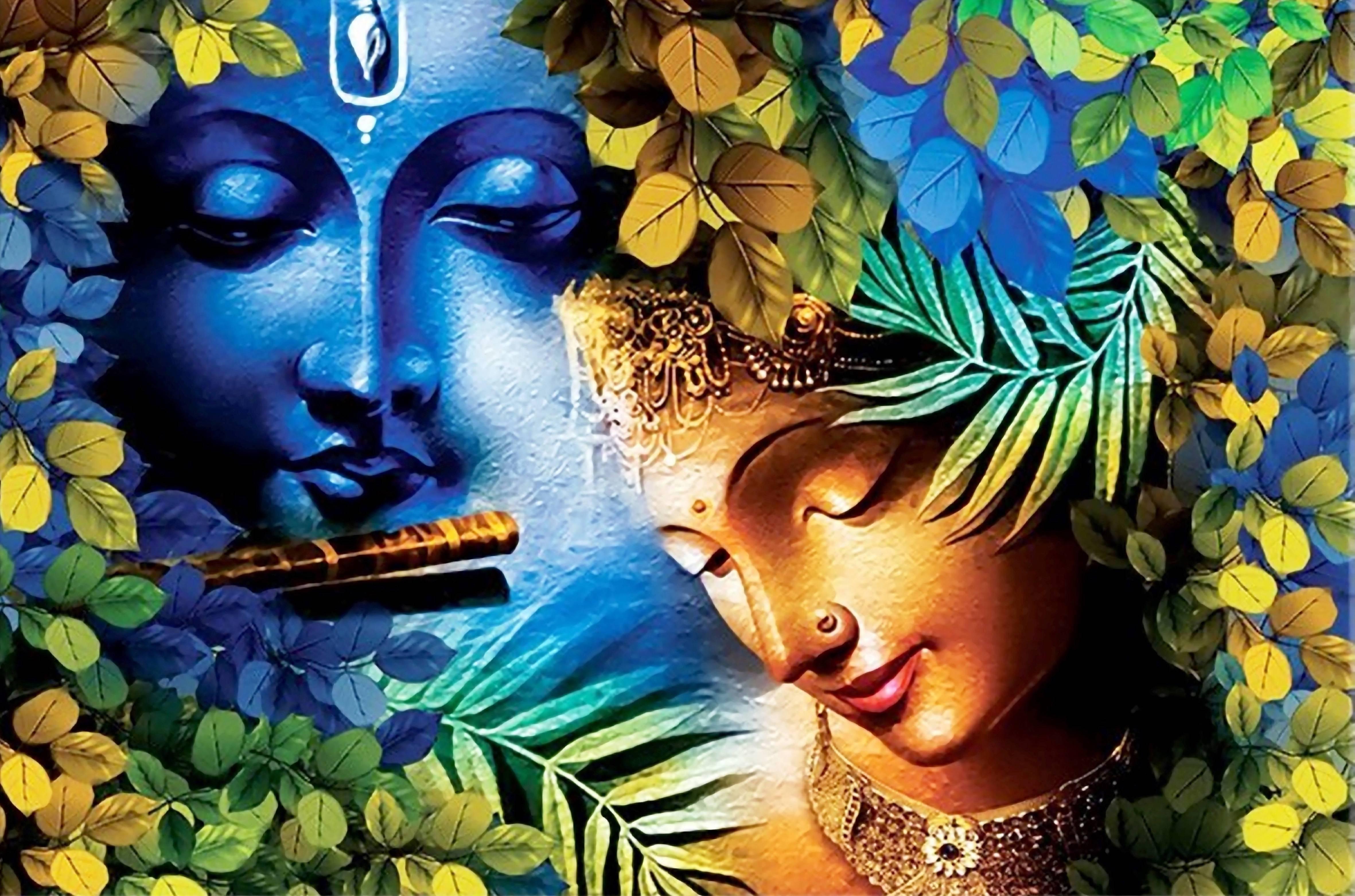Blue Radha Krishna 1